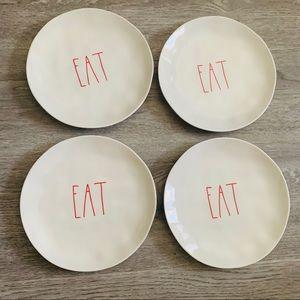 Rae Dunn EAT plates Melamine plates